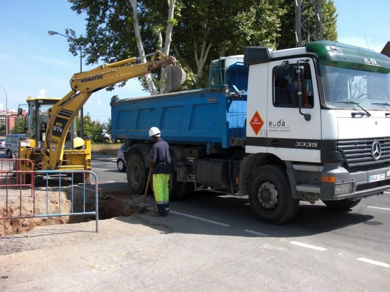 Canalització gas Figueres