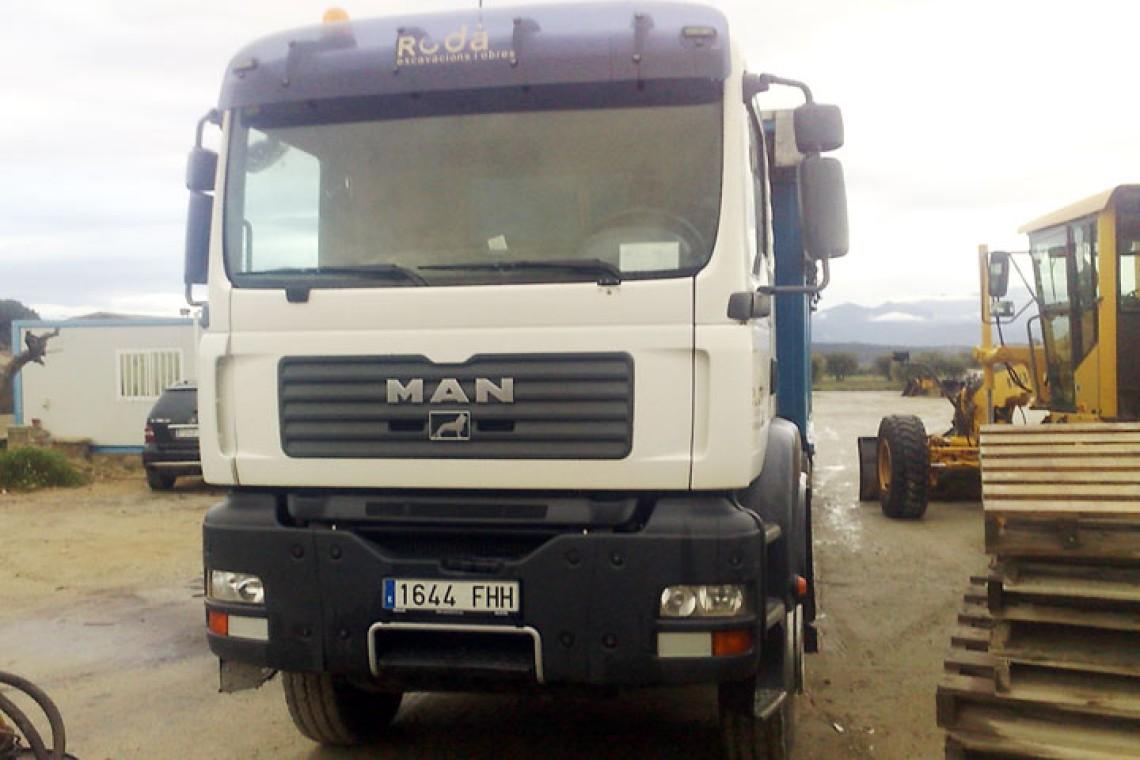 Camió Dumper MAN 350